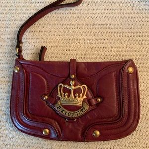 NWOT...JUICY COUTURE leather wristlet